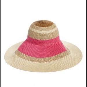Nordstrom Adjustable Straw Sun Hat NWT